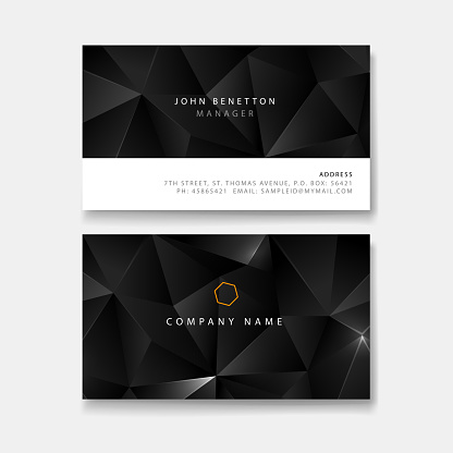 john business card