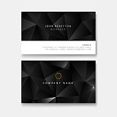 modern business card template design mockup