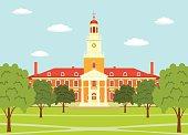 Johns Hopkins University - illustration.