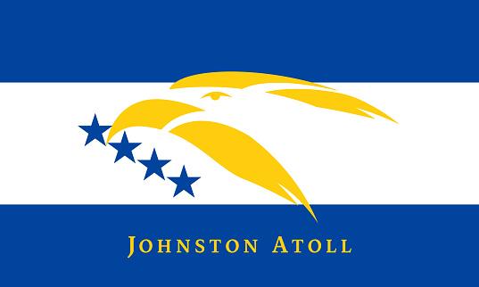Johnston Atoll (Kalama Atoll)  Flag