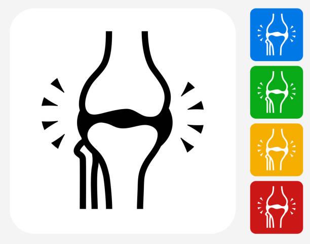 関節グラフィックデザインアイコンフラット - 骨点のイラスト素材/クリップアート素材/マンガ素材/アイコン素材