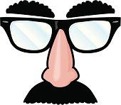costume gag glasses
