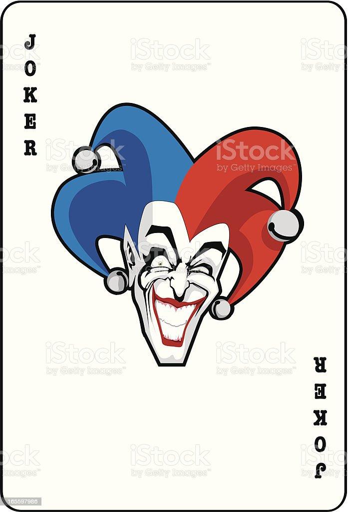 Joker tarjeta ilustración de joker tarjeta y más banco de imágenes de adulto libre de derechos