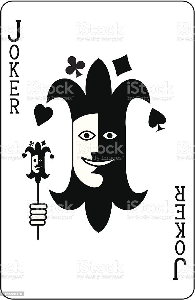 Joker face royalty-free joker face stock vector art & more images of clubs