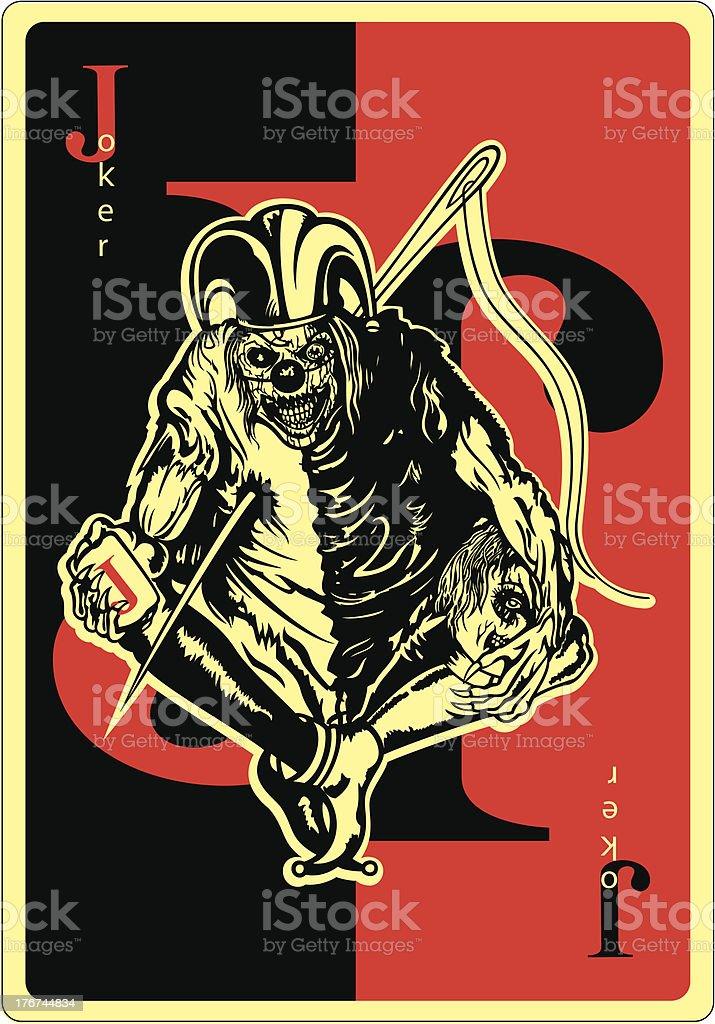 Joker royalty-free stock vector art