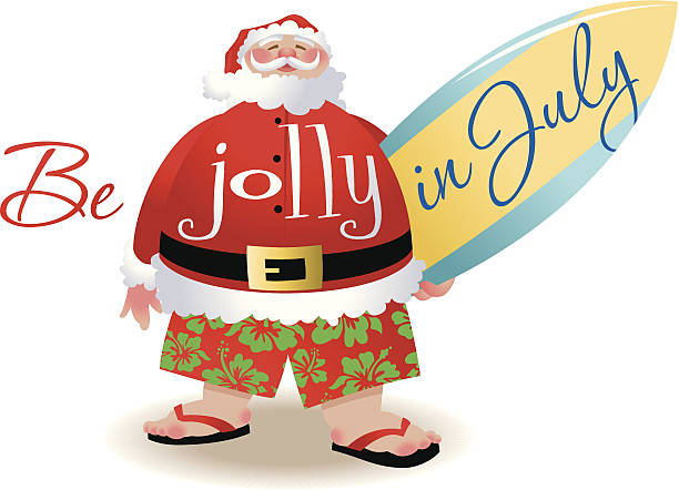 Christmas In July Clipart Free.Best Christmas In July Illustrations Royalty Free Vector