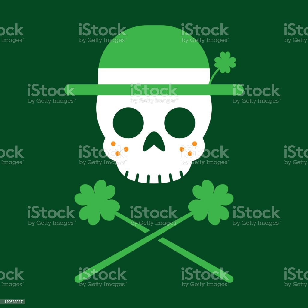 Jolly Leprechaun royalty-free stock vector art