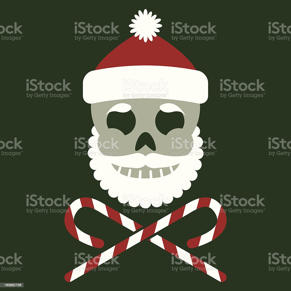 Jolly Saint Nick royalty-free stock vector art