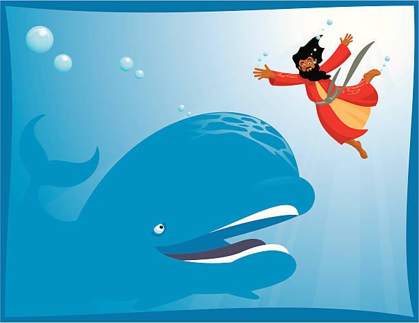 Jonah vector art illustration