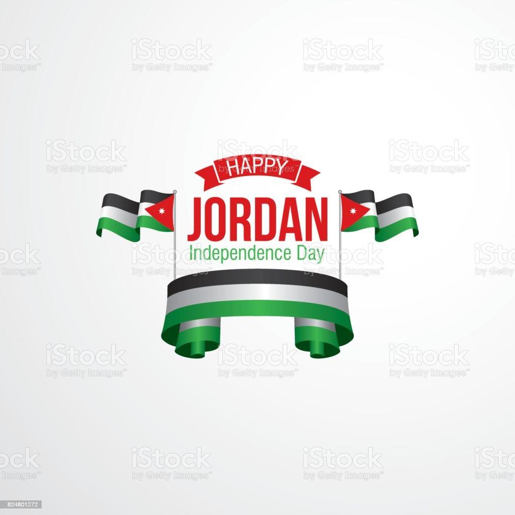 Jordan Independence Day Celebration Stock Vector Art More Images