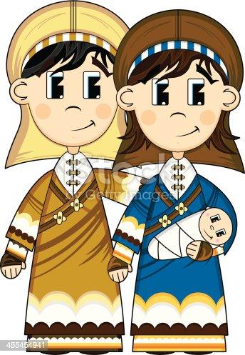 Virgin Mary Joseph Cartoon Stock Vector (Royalty Free) 779372155