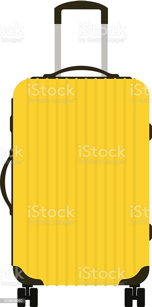 royalty free wheeled luggage clip art vector images illustrations rh istockphoto com clipart luggage label clipart luggage tag