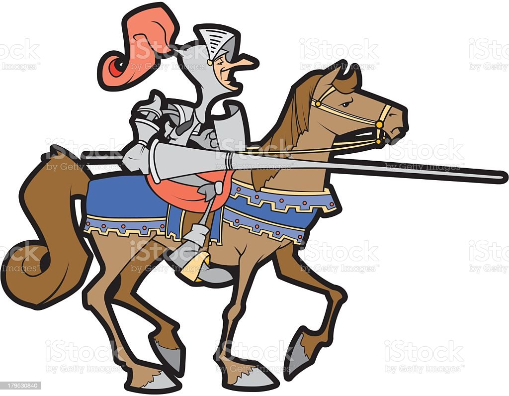Jouster royalty-free jouster stock vector art & more images of clip art