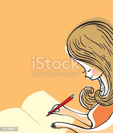 istock joven escribiendo 97785877