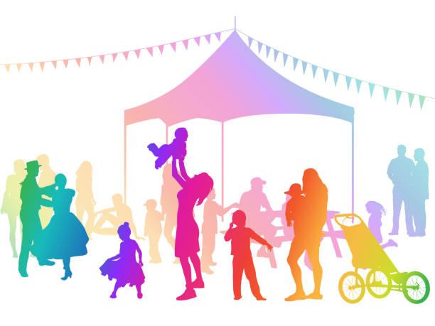 Joy Flag Festival Rainbow – Vektorgrafik