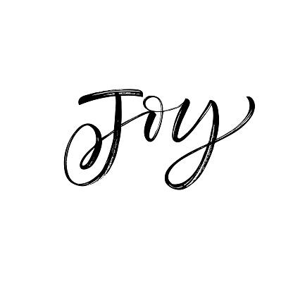 Joy phrase.