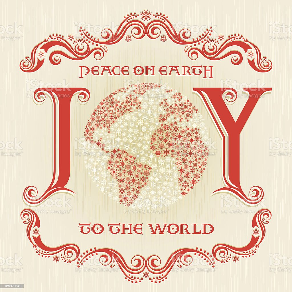 Joy to the World royalty-free joy to the world stock vector art & more images of backgrounds