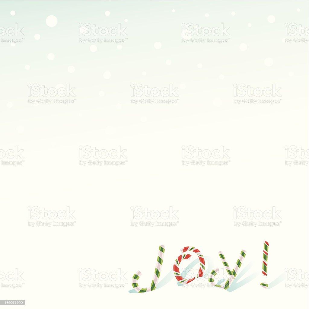 Joy! royalty-free stock vector art