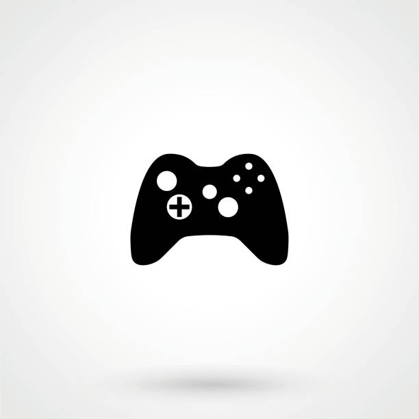 joystick for games vector joystick for games vector game controller stock illustrations