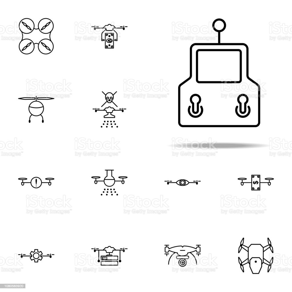 Joystick Icon Drones Icons Universal Set For Web And Mobile