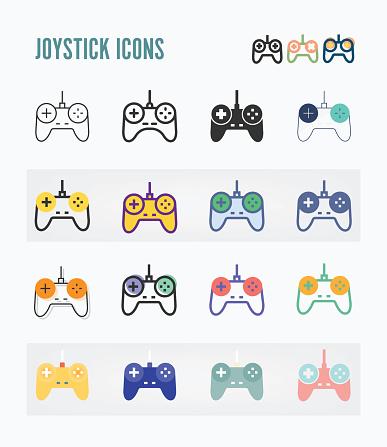 Joystick Icon Packs