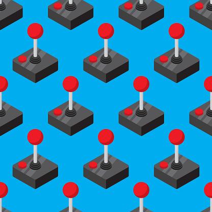 Joystick Pattern Flat