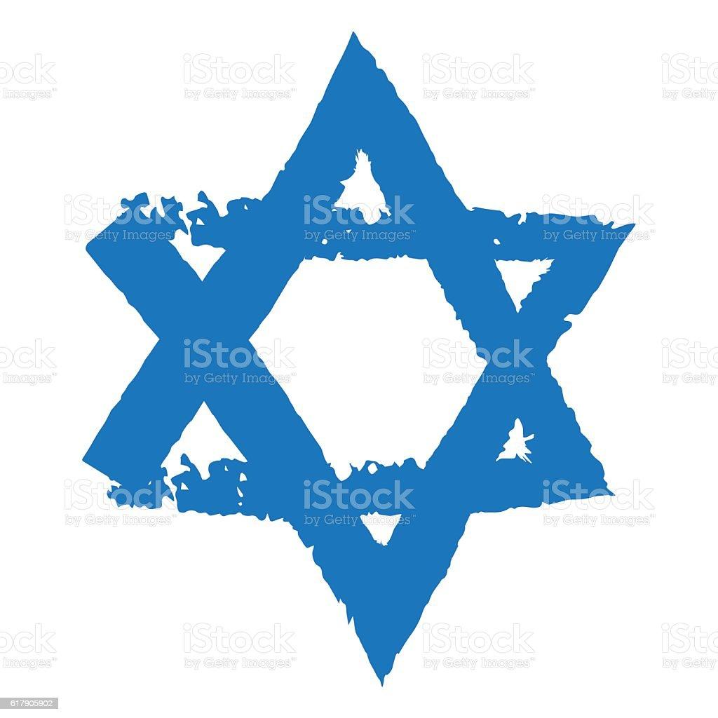 Judaic Symbol Of Magen David Or David Star