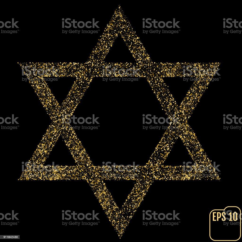 Judaism David Jewish Israel Star Seal Of Solomon Icon Vector