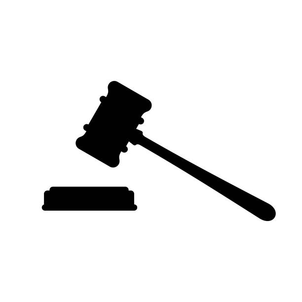 Judge Gavel icon Available in high-resolution and several sizes to fit the needs of your project. courthouse stock illustrations
