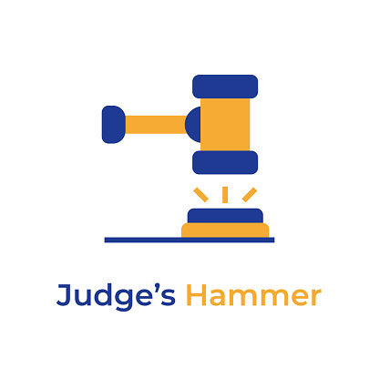 Judge Hammer color icon