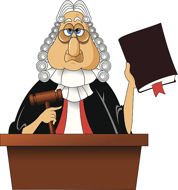 Best Judge Illustrations, Royalty-Free Vector Graphics ...