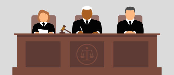 Judges icon Judges vector icon courthouse stock illustrations