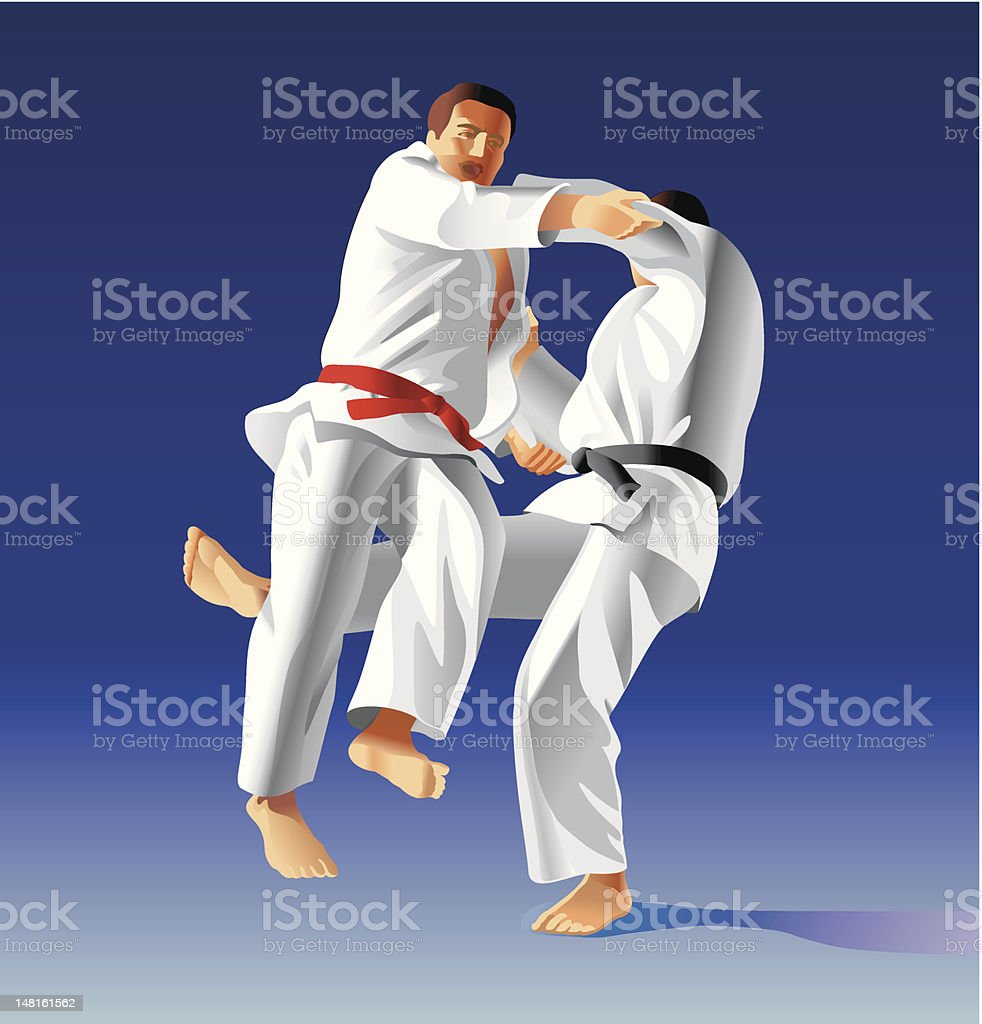 Judo royalty-free judo stock vector art & more images of activity