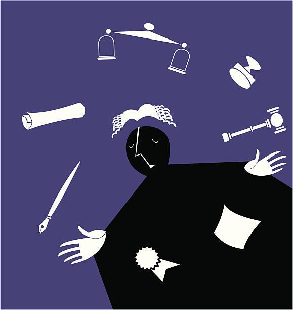 ilustraciones, imágenes clip art, dibujos animados e iconos de stock de malabarista abogado - civil rights