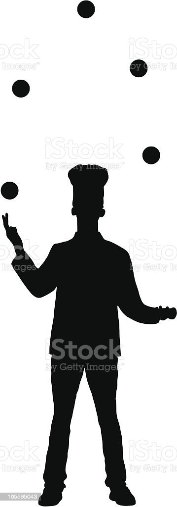 Juggling Chef royalty-free juggling chef stock vector art & more images of adult