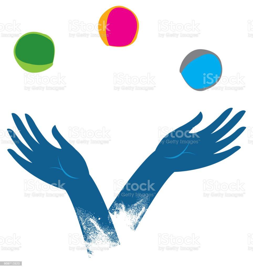 Lady Clipart Juggling - Juggling Clip Art - Png Download (#1348611) -  PinClipart