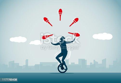 istock Juggling 1177765438