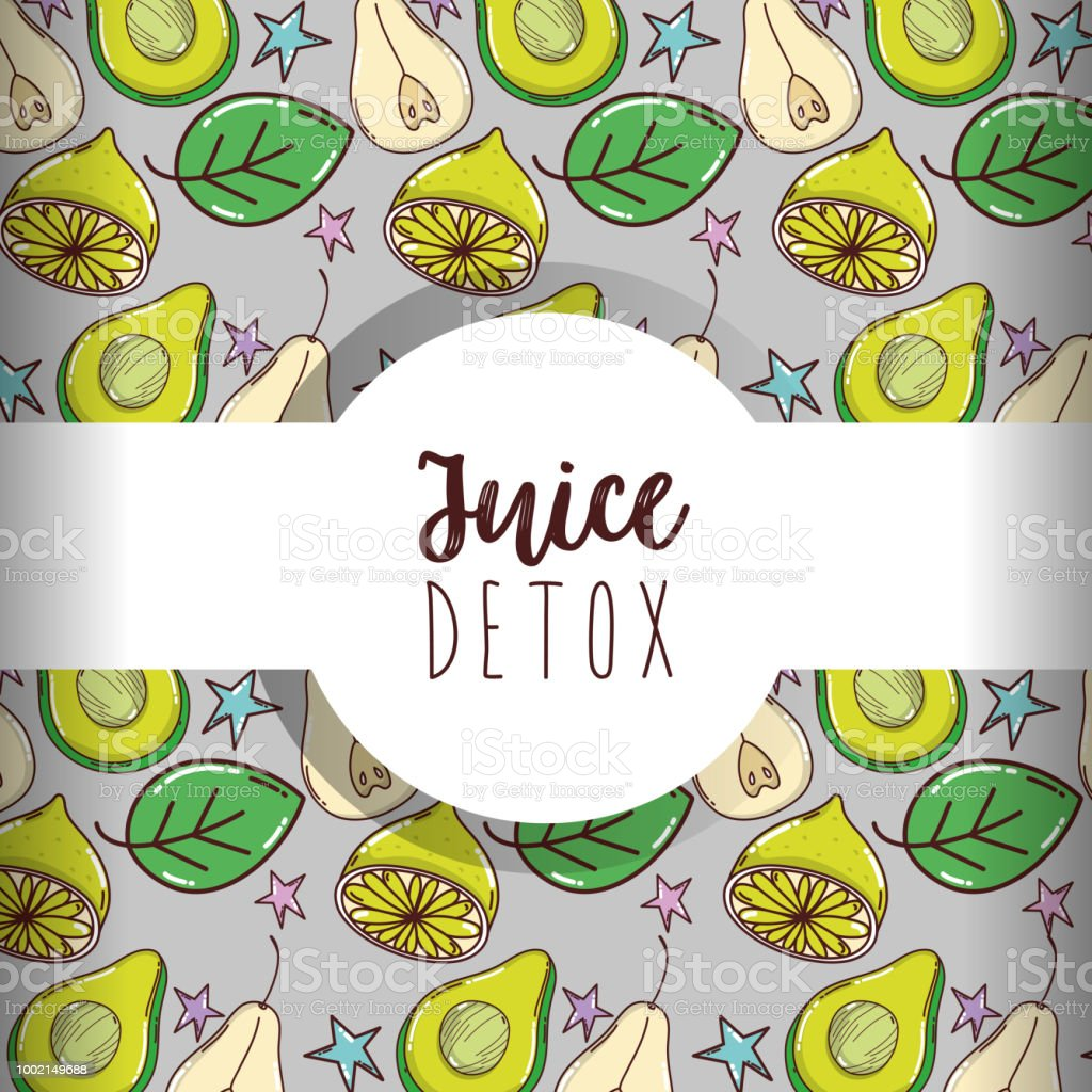 Juice Detox Background Stock Illustration Download Image Now Istock