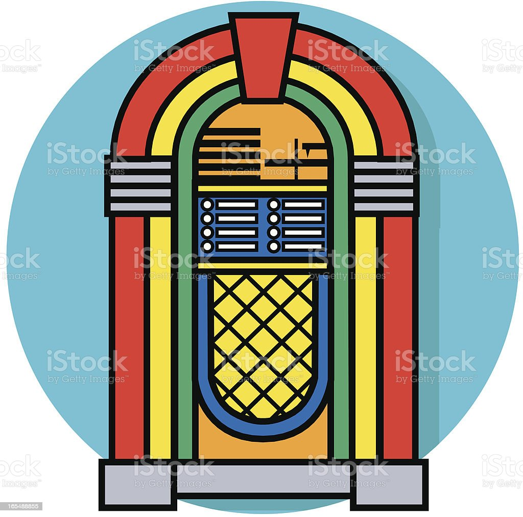 jukebox icon stock vector art more images of arts culture and rh istockphoto com jukebox pictures clip art free jukebox clipart