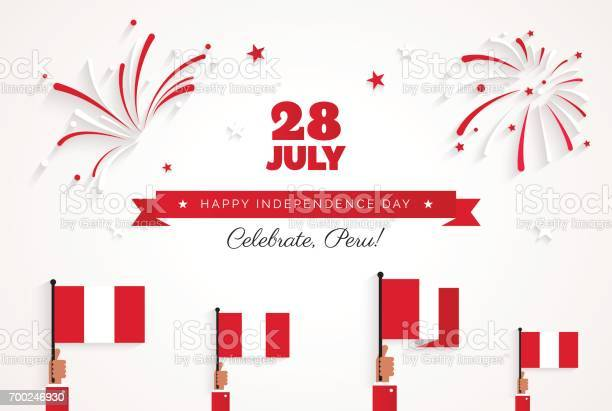 July peru happy independence day greeting card vector id700246930?b=1&k=6&m=700246930&s=612x612&h=j xv0s3n9u8guasjqewcgps49u9psdcvxkkrhnbbmkw=