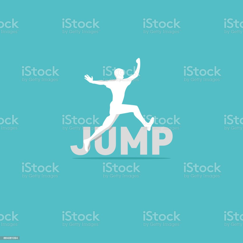 jump logo royalty-free jump logo stock vector art & more images of dancing