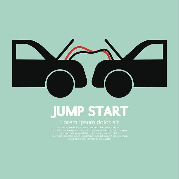 Jump Start vector art illustration