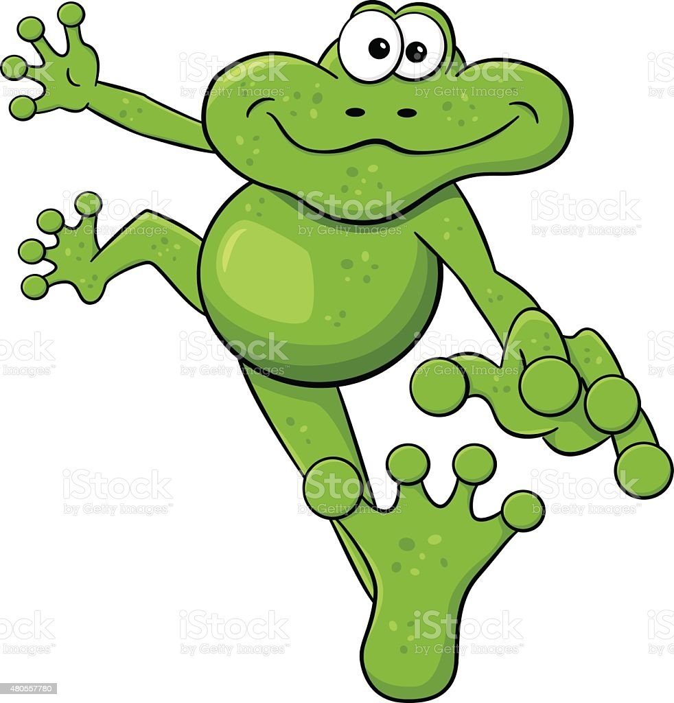 Royalty Free Jumping Frog Clip Art Vector Images Illustrations