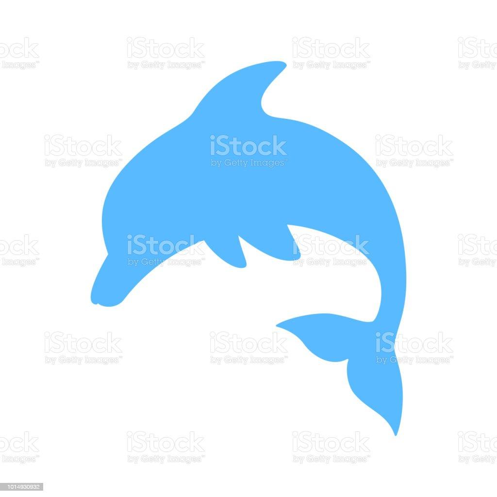 無料ダウンロード シルエット 可愛い イルカ イラスト ただの動物の画像