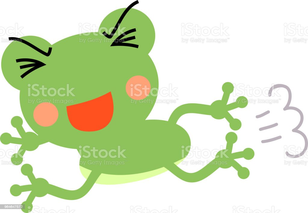 Jumping frog illustration royalty-free jumping frog illustration stock vector art & more images of amphibian