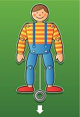 jumping jack toy