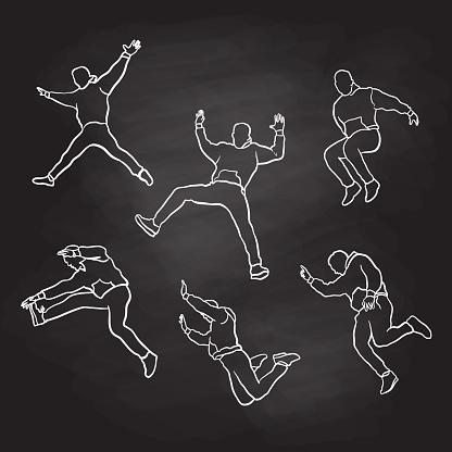 Jumps Chalkboard