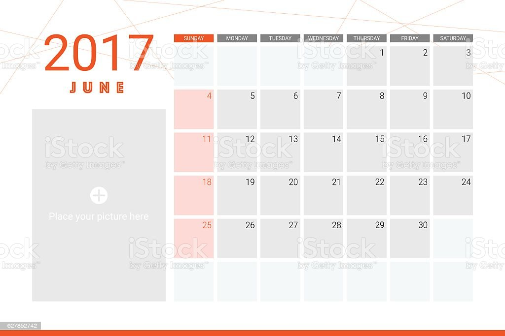 June Calendar Vector : June calendar stock vector art more images of