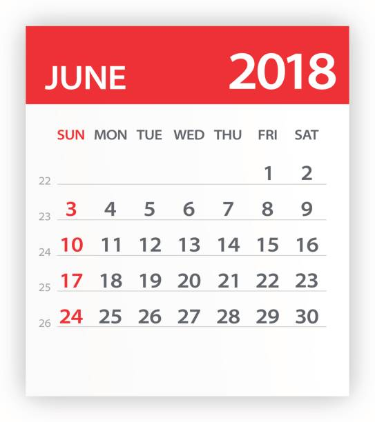 June Calendar Clip Art : Royalty free calendar leaf clip art vector images