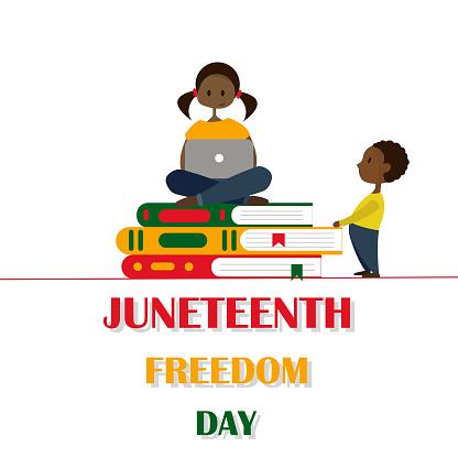 Juneteenth celebration banner